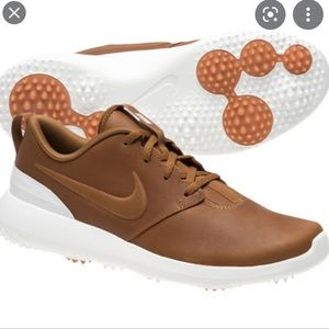Nike Rosche Premium spikeless leather golf shoes